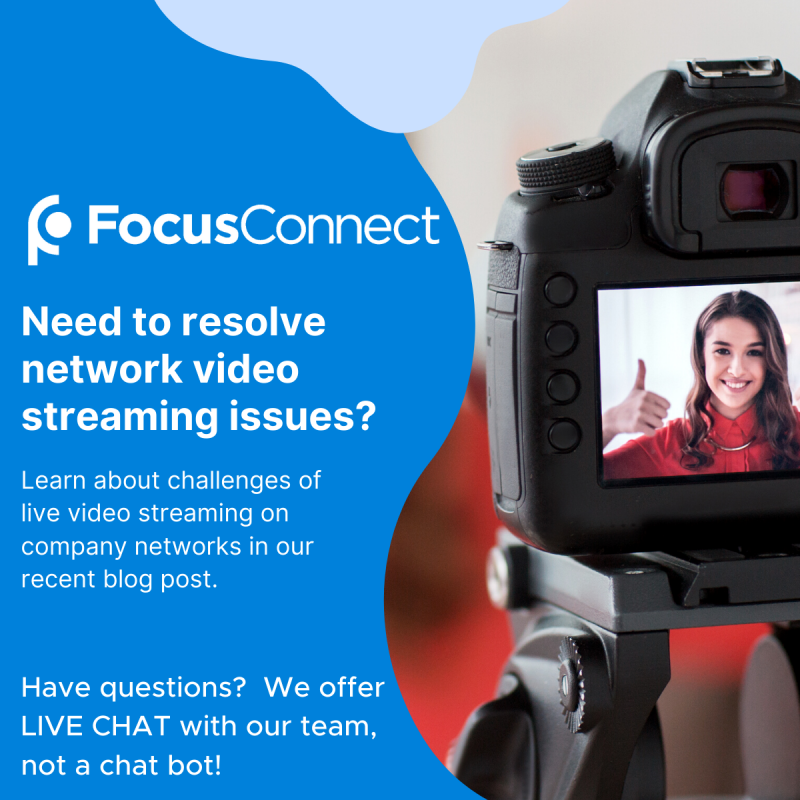 Resolving network video streaming issues